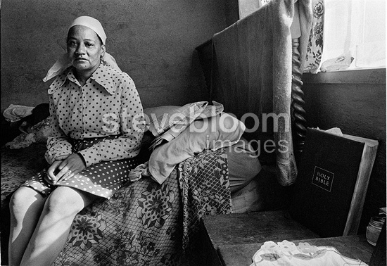 Woman at home, Manenberg, near Cape Town, 1976, South Africa