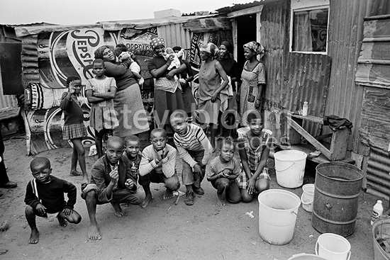 Crossroads Squatter Camp, 1977, South Africa