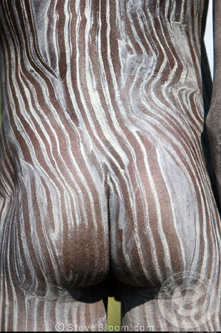 Body Art Surma Ethiopia Stock Photo: 29486618 - Alamy
