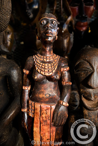 African carved figurine