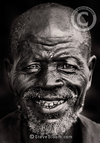 Elderly Dogon man, Mali