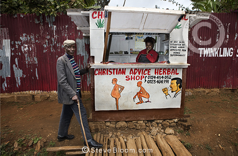Christian Advice Herbal Shop, Nairobi, Kenya.