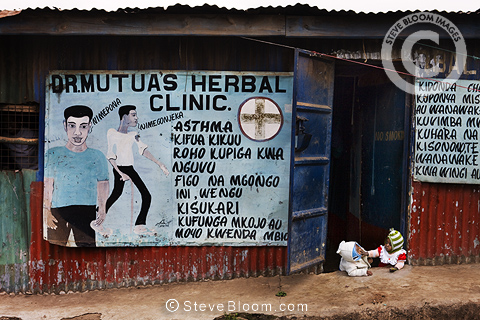 Dr. Mutua's Herbal Clinic, Nairobi, Kenya.