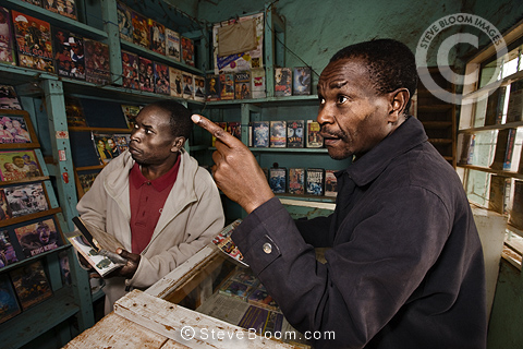 Damos Video Centre, Nairobi, Kenya.