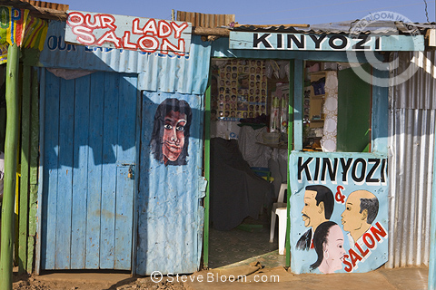 Our Lady Salon, hair salon, Nairobi, Kenya.
