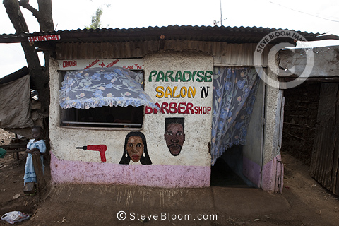 Paradise Salon 'n Barber Shop, Nairobi, Kenya.