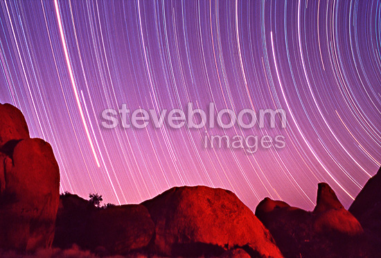 Southern night sky at Spitzkoppe Namibia