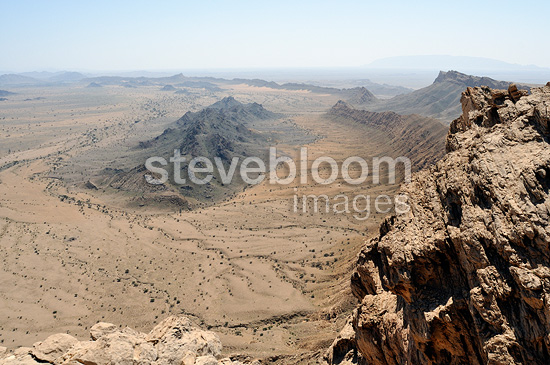 View of the mountains, Oman