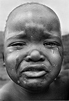 Crying baby, Swaziland, 1976, South Africa