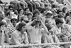 Segregated Whites only audience at carnival, Cape Town, 1976, South Africa