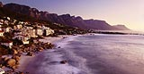 Clifton beach at sunset, Cape Town, South Africa