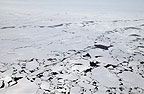 Icebreaker in Antarctica in pack ice