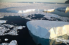 Ice floes at Cape Adare, Antarctica