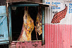 Butcher's shop, outskirts of Nairobi, Kenya