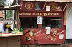 Greengrocer with pictures of Manchester United Football Club, outskirts of Nairobi, Kenya