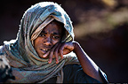Local woman, Lalibela, Ethiopia, Africa.