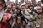 A group of children near Mikele, Ethiopia