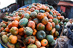 Pumpkins in street Market, Addis Ababa, Ethiopia