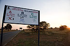 Roadside AIDS prevention poster, South Africa