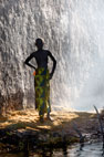 Girl from a village on an island in the River Niger, near Mopti, Mali