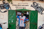 A photography shop between S�gou and Bamako, Mali