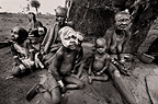 Women and children of the Mursi tribe, Ethiopia