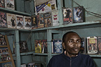 Moses Githinji of the Damos Video Centre, Nairobi, Kenya.