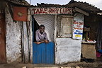 Take away chips shop, Nairobi, Kenya.
