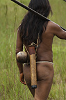 Huaorani Indians, Yasuni National Park, Amazon rainforest, Ecuador, South America.