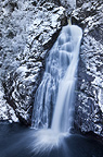 The Falls of Foyers in winter, Invernesshire, Scotland