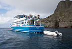 MV Sea Wolf liveaboard, Malpelo Island, National Park, Natural World Heritage Site, Colombia, East Pacific Ocean