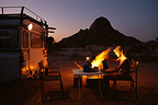Safari evening, Damaraland, Namibia