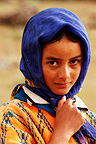 Berber girl Atlas mountains, Morocco