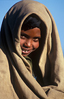 Amhara child from the Ethiopian Highlands Portrait
