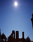 Partial phase Total solar eclipse Ancient city Turkey