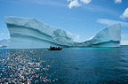 Iceberg in the shape of a wave, Antarctic Peninsula