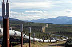 Trans Alaska Pipeline from Prudhoe Bay to Valdez