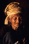 Portrait of an old woman India