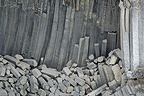 Basaltic organ pipes Iceland