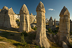 Fairy Chimneys in Cappadocia Turkey