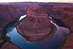 Meander of the Colorado Glen Canyon Arizona USA