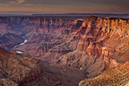 Sunset in Grand Canyon Arizona USA