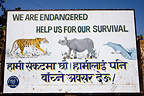 Panel for the protection of endangered species Nepal