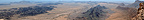 Panoramic view from the Jebel, Qatar to Oman
